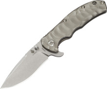 Kizer Cutlery Caligine Framelock Knife (Stonewash)