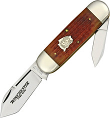 Winchester Buffalo Head Series Sunfish Knife (Satin)