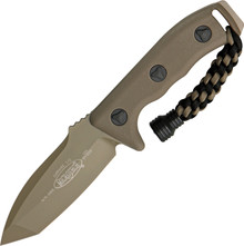 Microtech Currahee T/E Fixed Blade Knife (Tan Tanto)
