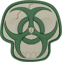 Maxpedition Arid Biohazard Skull Patch (Light & Dark Green)