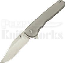 Kizer Cutlery Flashbang Framelock Flipper Knife (Stonewash)