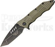 Guardian Tactical Helix Combat Folder OD Green Knife (Dark Stonewash)