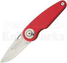 Marttiini Pelican Red Linerlock Folder Knife (Polished)