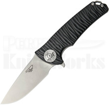 Stedemon Knife Co. DSG Black Linerlock Knife (Stonewash)