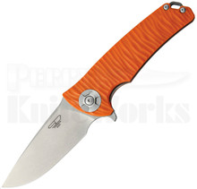 Stedemon Knife Co. DSG Orange Linerlock Knife (Stonewash)