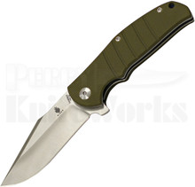 Kizer Vanguard Series Laconico Intrepid Green Flipper Knife (Satin)