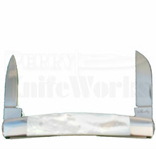 Eugene Shadley Mother Of Pearl Half Congress Knife (Satin)