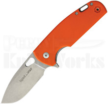 Viper Knives Vox Kyomi Orange G10 Framelock Flipper Knife (Stonewash)
