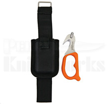 StatGear SuperVizor XT Orange Seat Belt Cutter (Satin)
