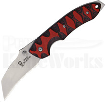 Bad Blood Knives Kendrick Razor Hoof Linerlock Knife (Satin Serr)