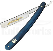Colt 175th Anniversary Blue Bone Straight Razor (Satin)