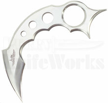 Gil Hibben Claw II Karambit Fixed Blade Knife (Satin)