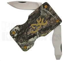 Browning Buckmark Mossy Oak Money Clip Knife