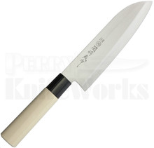 Due Cigni HH03 Santoku Maple Handle Chef Knife