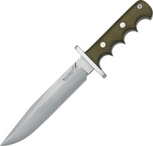 Blackjack Halo Attack Green Fixed Blade knife