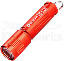 Olight I3E EOS Keychain Flashlight Red