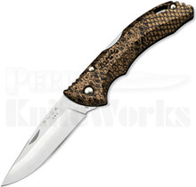 Buck Bantam BHW Copperhead Snake Skin Lockback Knife (Satin)