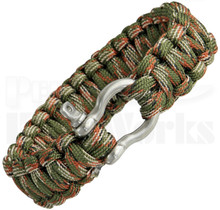 Colt SPEAR Survival Bracelet Woodland Camo