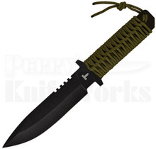 Factory X Low Profile Tactical Green Knife