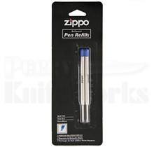 Zippo Ballpoint Ink Pen Refill 2-Pack (Blue)