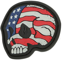 Maxpedition Stars & Stripes Skull Patch (Glow)