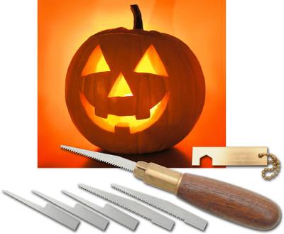 Warren Cutlery Pro Pumpkin Carving Tool Set (Satin)