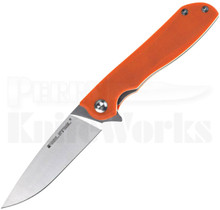 Real Steel E801 Megalodon Linerlock Knife Orange G10