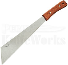 "Okapi Corn Knife Wood Handle Fixed Blade Knife (14.5"" Satin) KO4000"