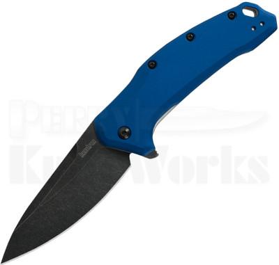 Kershaw Link Linerlock Knife Navy Blue 1776NBBW