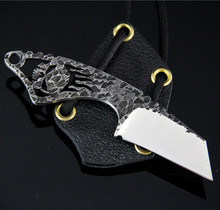 Black Dragon Forge V3 Skull Neck Knife