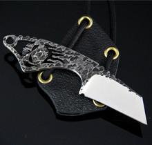 Black Dragon Forge V3 Skull Neck Knife