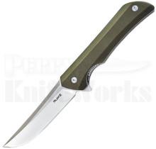 Ruike Knives Hussar P121 Linerlock Knife Green G-10