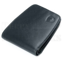 Guard Dog Premium Black Leather Small Ultra Slim RFID Wallet
