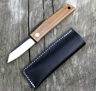 Hiroaki Ohta Knives OFF FK 5 Palo Santo Wood Knife for Sale