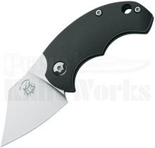 Fox Knives BB Drago Piemontes Friction Folder Knife 519 Black