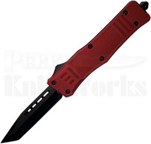 Cutting Edge Heretic Red D/A OTF Auto Knife Tanto