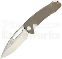 Medford Knife & Tool On Belay Framelock Knife Bronze