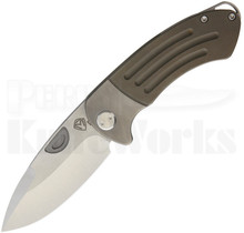 Medford Knife & Tool Theseus Framelock Knife Bronze