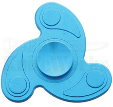 Novelty Cutlery Blue Aluminum Fidget Spinner NV310