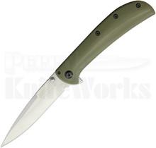 Kershaw Al Mar AM-3 Framelock Knife OD-Green 2335GRN