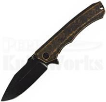 Heretic Knives Wraith Flipper Knife Tan Breakthrough Black/Blade