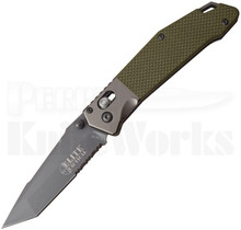 Elite Tactical Rapid Lock Knife Green G10 1027GN