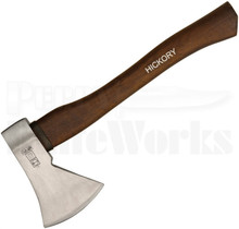 "Ruthe 14"" Hatchet Axe Hickory Wood Handle"