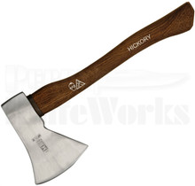 "Ruthe 16"" Hatchet Axe Hickory Wood Handle"