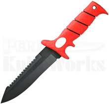 Bubba Blade Scout Fixed Blade Knife Red BB1-SC