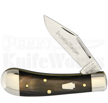 Schatt & Morgan #80 Sway Belly Knife Buffalo Horn
