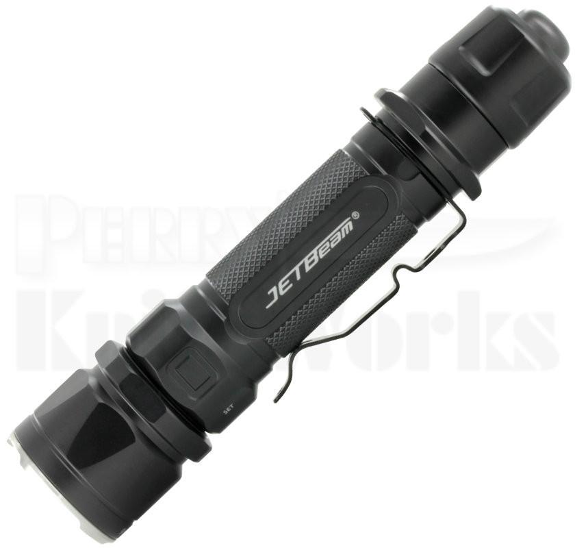 JETBeam JET-IIM Flashlight Black Cree XP-L HI LED (1100 Lumens)