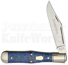 Schatt & Morgan Coke Bottle Knife Blue Sky Acrylic