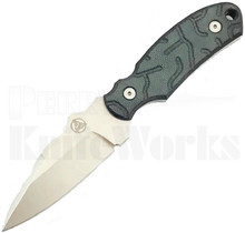 Nemesis Knives Arch Ally Fixed Blade Knife Green
