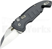 Hogue A01 Microswitch Automatic Knife Gray 24142